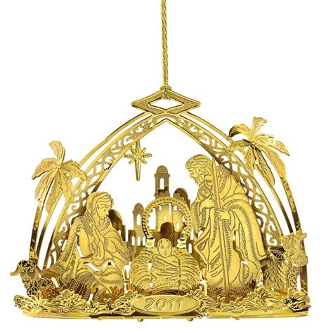 danbury mint annual gold ornaments 2011 annual gold ornament the danbury mint