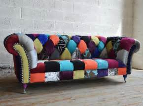 chesterfield sofa patchwork walton patchwork chesterfield sofa abode sofas