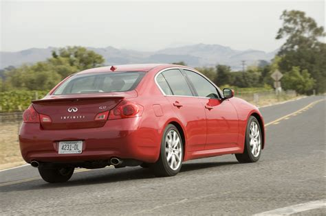 infiniti g37 sedan 2008 2009 infiniti g37 sedan and coupe pricing announced the