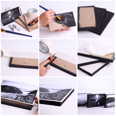 how to make collage frame at home diy photo frame tutorial happiness boutique