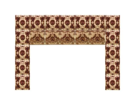 Minton Fireplace Tiles by Minton Hollins Shell Fireplace Surround Tiles