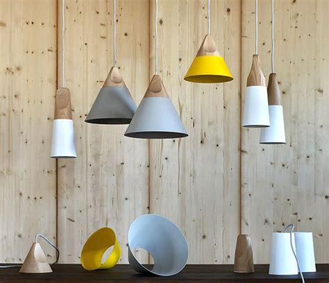 slope wooden lamp  skrivo design interiorzine