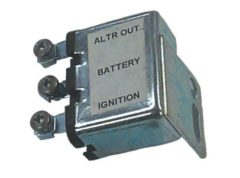 regulator boats parts voltage regulator field relay for chrysler marine 2095946