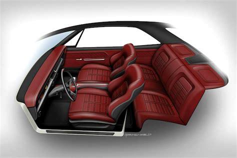 m m upholstery m m hot rod interiors drops jaws at sema