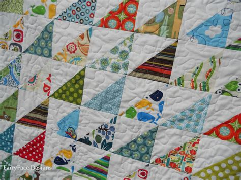 Boy Quilt Pattern by Fairyface Designs Trouble Baby Boy Quilt Finishes