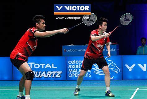 Raket Jetspeed S Tontowi Ahmad jetspeed s 12 experience the expeditious thunder for victory victor badminton thailand