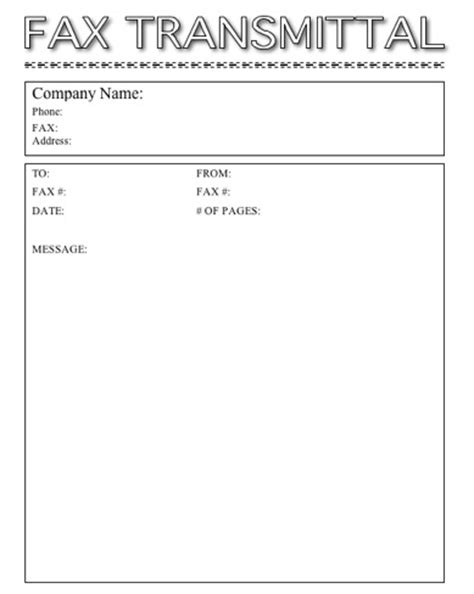 free fax cover sheet template the best letter sample