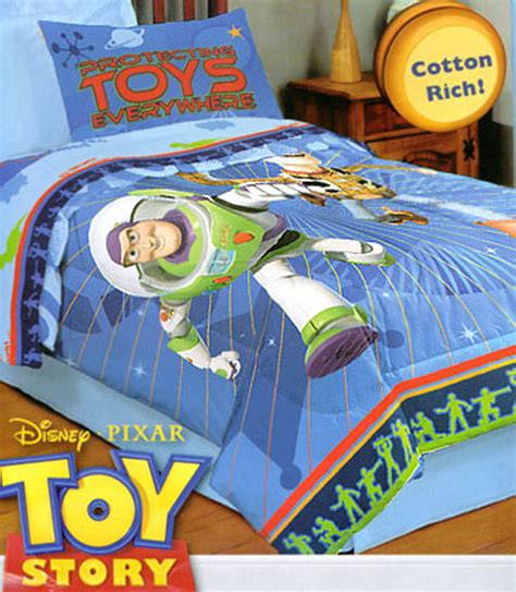 Buzz Lightyear Bed Set Disney Pixar Bedding Story Comforter Bath Slumberland Beds