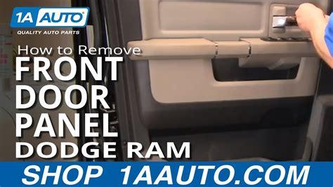 remove install front interior door panel