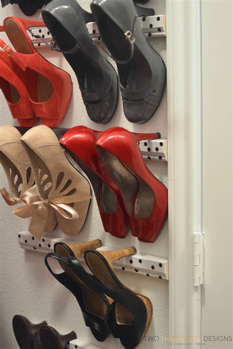 high heel shoe rack high heel storage two thirty five designs
