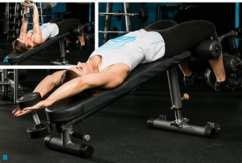 decline bench pullover the 6 best lat exercises you re not doing