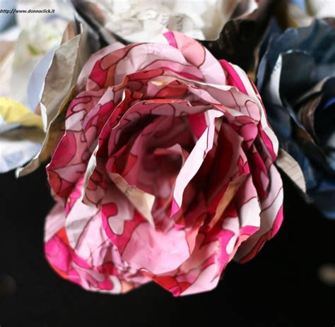realizzare fiori come realizzare fiori con la carta non sprecare