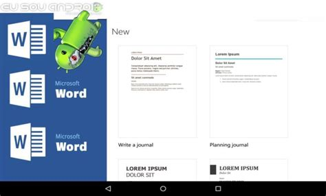 ms word for android microsoft word v16 0 7927 1011 apk eu sou android