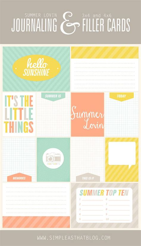 free journal card templates 149 best pocket style scrapbooking images on