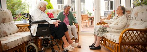 nursing home clothing supporting family and caregivers