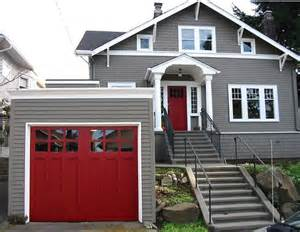 door colors for gray house top 5 color choices for garage doors add value to your home