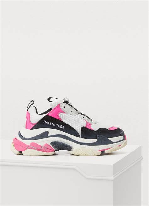 womens triple  sneakers balenciaga  sevres