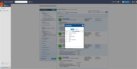 Resume Search by Power Resume Search Bullhorn Marketplace