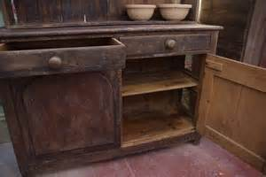 1860 s farmhouse kitchen dresser stalking cat antiques