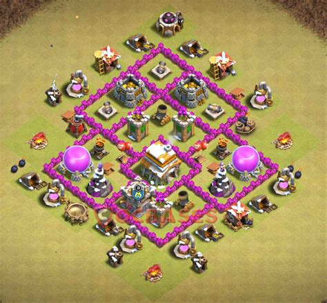 clash of clans war base 6 top 20 best th6 war base anti everything 2018 new