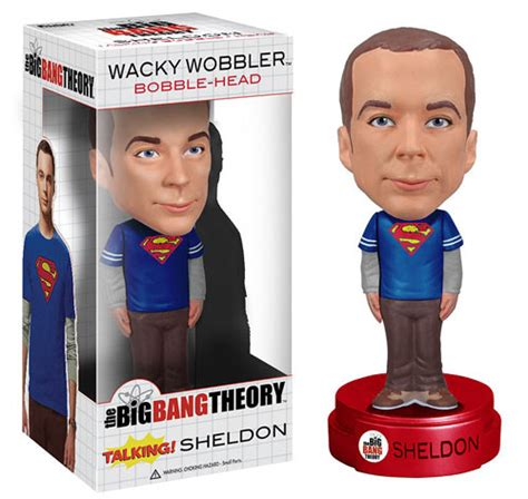 big 6 bobbleheads big theory talking sheldon cooper bobble funko