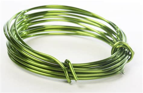 green aluminum craft wire wire rope string basic