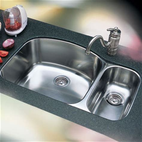 Ferguson Kitchen Sinks B440244 Wave Stainless Steel Undermount Bowl Kitchen Sink Stainless Steel At Shop