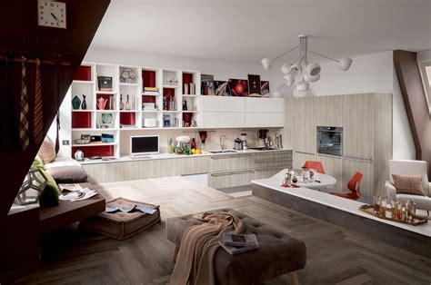 veneta cucine living cucine living con vani a giorno cose di casa