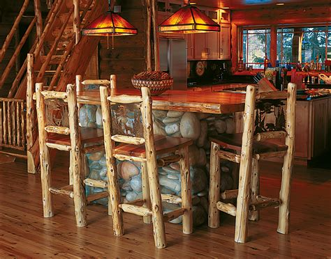 Cabin Creek Bar Stool by Bar Stools Rustic Furniture Mall By Timber Creek