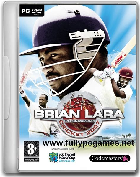 download full version game of cricket 2007 brian lara cricket 2007 full game free download