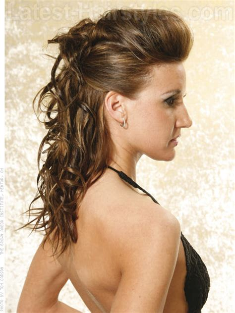 how to pulled back hairstyles for shoulder length hair half up half down hairstyles pictures 2017 for formal