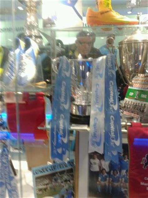 trophy room capital one cup picture of etihad stadium