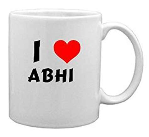 Amazon.com: I Love Abhi Coffee Mug (first name/surname/nickname): Home & Kitchen