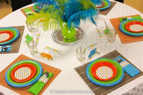 Dinosaur Baby Shower Decorations by Dinosaur Themed Baby Shower Baby Shower Ideas Themes