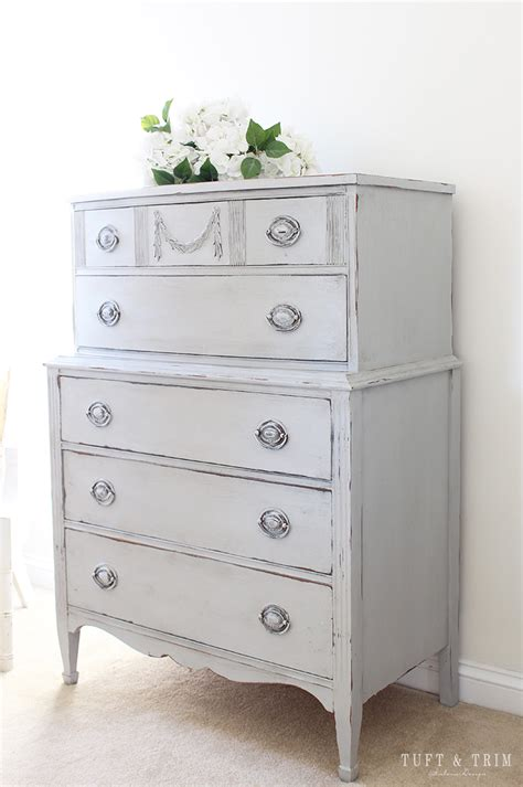 dresser makeover with howard at home tuft trim