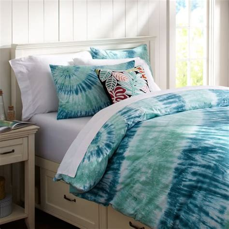 how to tie dye a comforter telegraph tie dye duvet cover sham pbteen