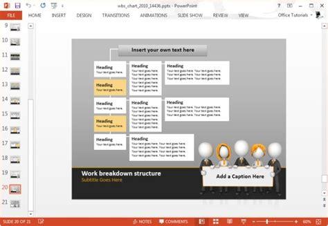 Wbs Template For Powerpoint Rakutfu Info Wbs Powerpoint Template