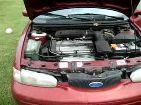 how cars engines work 1996 ford contour engine control 1996 ford contour youtube