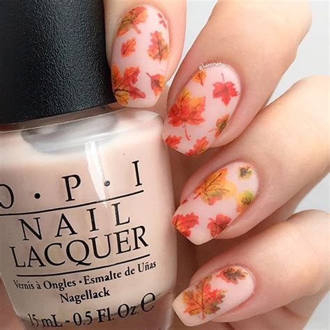 Fall Autumn Nail Designs