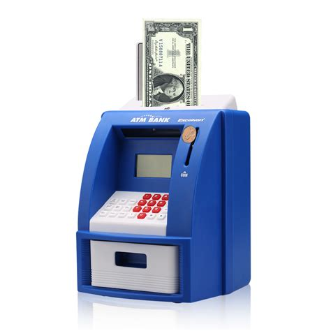 Piggy Bank With Digital Display by Mini Atm Money Saving Machine Piggy Bank Digital Display