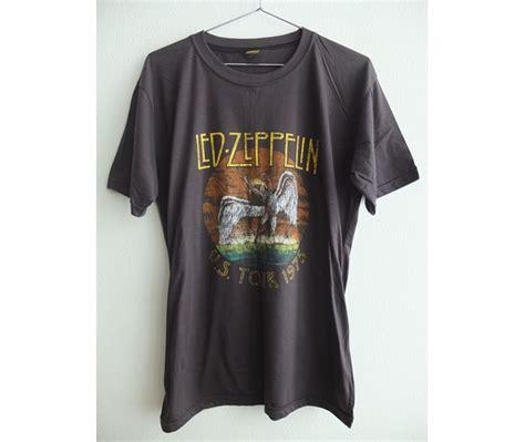 Retro Led L retro classic led zeppelin fashion pop rock t shirt
