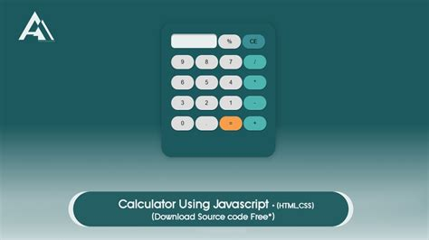 calculator using javascript and html calculator using javascript html css source code