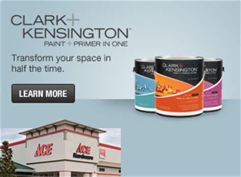 free quart of clark kensington paint ace 3 9