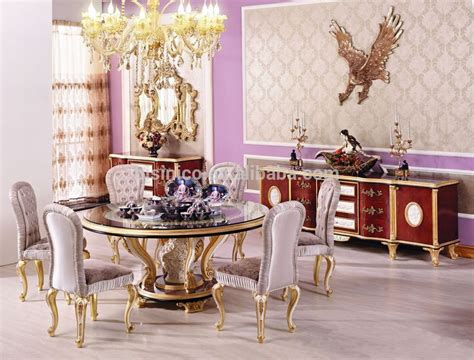 Classic Dining Room Furniture Style New Classic Dining Room Furniture Luxury Wood Carving Dining Table For 6