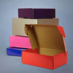 colored boxes colored tuck top corrugated shipping boxes