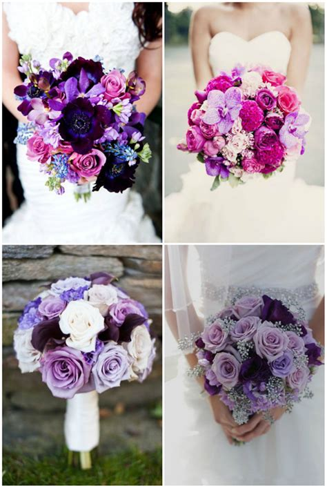 wedding bouquet ideas top 20 gorgeous purple wedding bouquet ideas