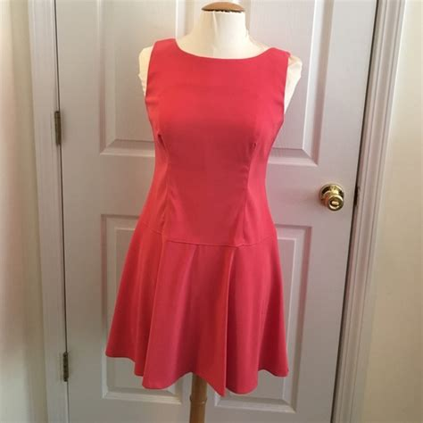 salmon colored dress 71 connected apparel dresses skirts salmon