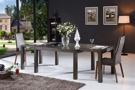 Dining Table Grey Oak Modrest Galant Modern Grey Oak Extendable Dining Table