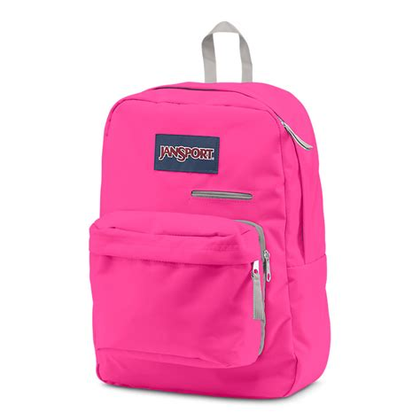 jansport digibreak backpack fluorescent pink