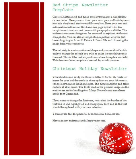 best christmas templates for corporate 27 newsletter templates free psd eps ai word free premium templates